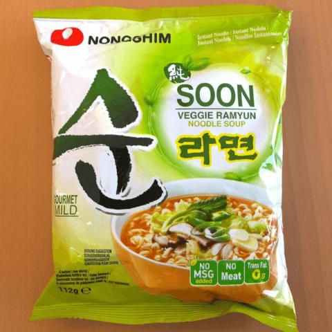 """#217: Nongshim """"SOON Veggie Ramyun Noodle Soup"""""""