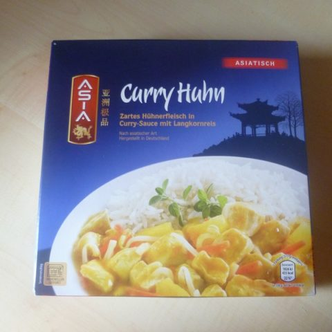 "#523: Asia ""Curry Huhn"""