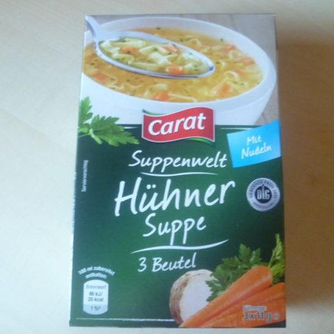 "#527: Carat Suppenwelt ""Hühner Suppe"""