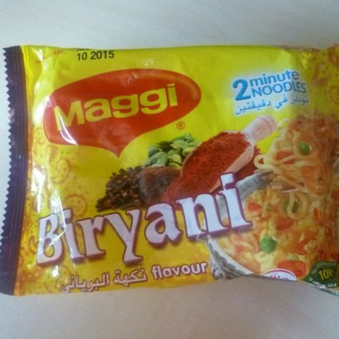 "#528: Maggi 2 Minute Noodles ""Biryani Flavour"""