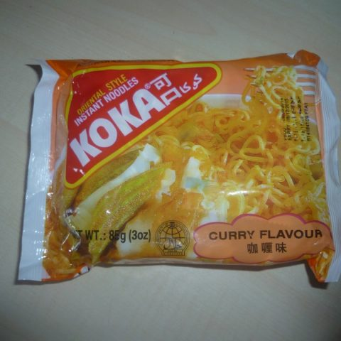 "#530: Koka Oriental Style Instant Noodles ""Curry Flavour"""