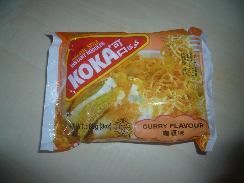 "#530: Koka Oriental Style Instant Noodles ""Curry Flavour"""