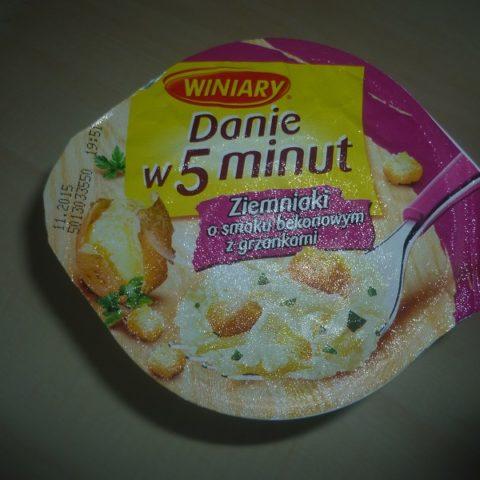 """#531: Winiary Danie w 5 minut """"Ziemniaki o smaku bekonowym z grzankami"""""""