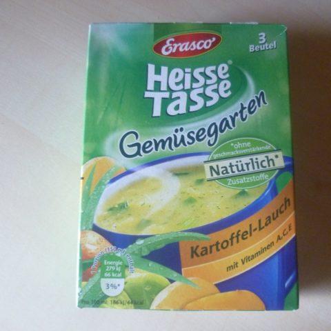 """#532: Erasco Heisse Tasse """"Gemüsegarten Kartoffel-Lauch"""""""