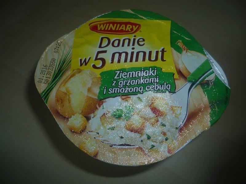 """#535: Winiary Danie w 5 minut """"Ziemniaki z grzankami i smażoną cebulą"""""""