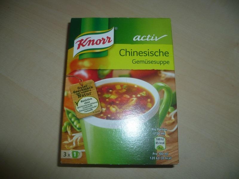 """#537: Knorr Activ """"Chinesische Gemüsesuppe"""""""