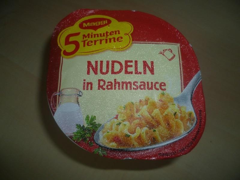 """#538: Maggi 5 Minuten Terrine """"Nudeln in Rahmsauce"""""""