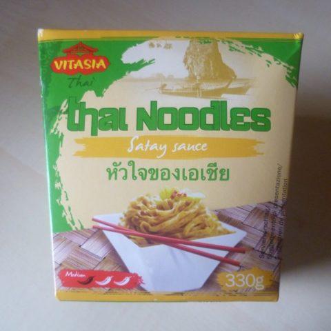#544: Vitasia Thai-Nudeln mit Erdnuss-Satay-Sauce