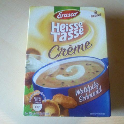 "#551: Erasco Heisse Tasse ""Creme Waldpilz Schmand"""