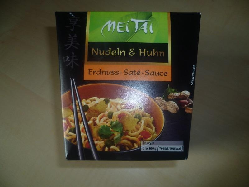 """#553: Mei Tai Nudeln & Huhn """"Erdnuss-Saté-Sauce"""""""