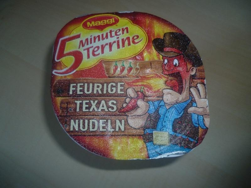 "#555: Maggi 5 Minuten Terrine ""Feurige Texas Nudeln"""