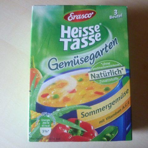 """#558: Erasco Heisse Tasse Gemüsegarten """"Sommergemüse"""""""