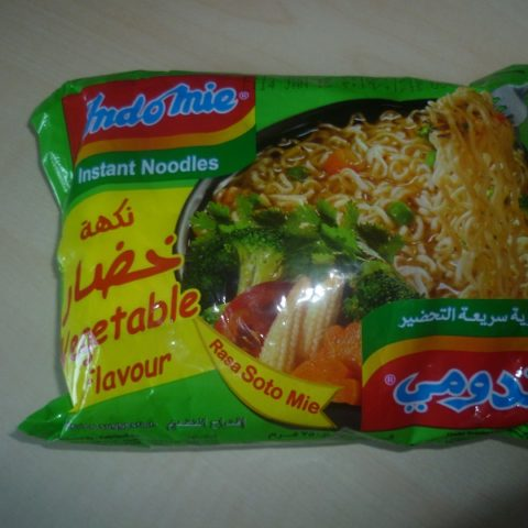 "#561: Indomie Instant Noodles ""Vegetable Flavour/Rasa Soto Mie"" (Arabische Version)"