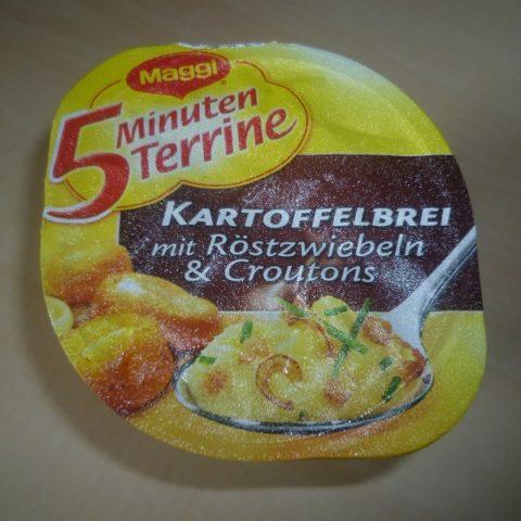 """#562: Maggi 5 Minuten Terrine """"Kartoffelbrei mit Röstzwiebeln & Croutons"""""""