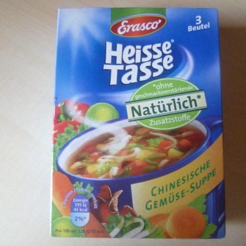 """#563: Erasco Heisse Tasse """"Chinesische Gemüse-Suppe"""""""