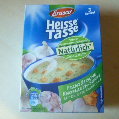 """#568: Erasco Heisse Tasse """"Französische Knoblauch-Suppe"""""""