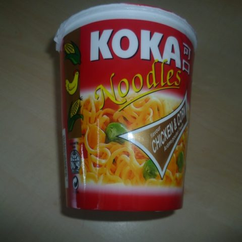 "#570: Koka Noodles ""Chicken & Corn Flavour"" Cup"