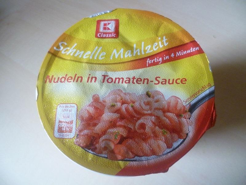 "#578: K-Classic Schnelle Mahlzeit ""Nudeln in Tomaten-Sauce"""