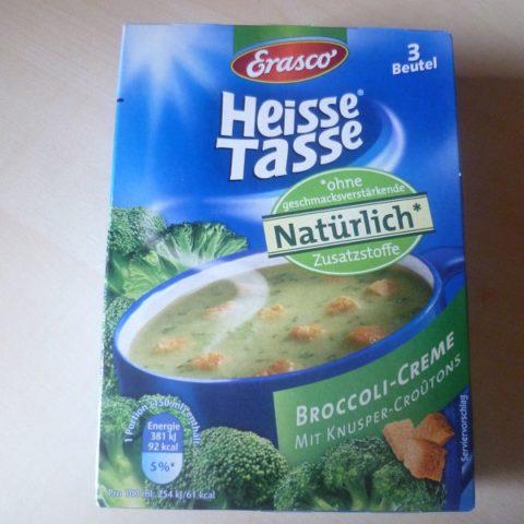 "#579: Erasco Heisse Tasse ""Broccoli-Creme"""