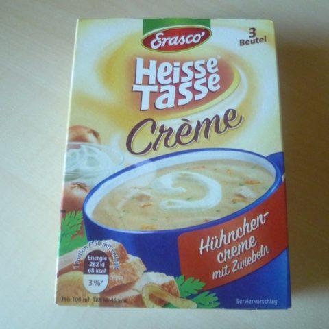 """#580: Erasco Heisse Tasse """"Hühnchen-Creme mit Zwiebeln"""""""