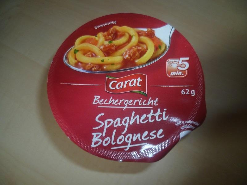 """#585: Carat Bechergericht """"Spaghetti Bolognese"""""""