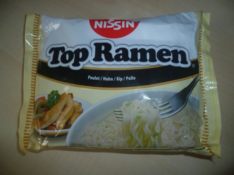 "#587: Nissin Top Ramen ""Huhn"""