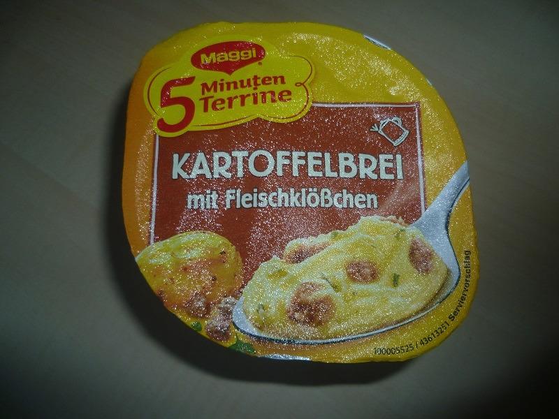 """#588: Maggi 5 Minuten Terrine """"Kartoffelbrei mit Fleischklößchen"""""""