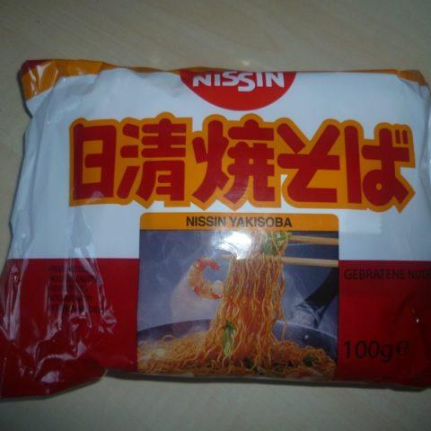 """#590: Nissin """"Fried Noodles Yakisoba"""""""