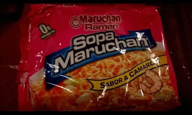 "#594: Maruchan Ramen ""Sopa Maruchan"" Sabor a Camaron"
