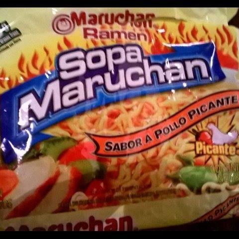 "#593: Maruchan Ramen ""Sopa Maruchan"" Sabor a Pollo Picante"
