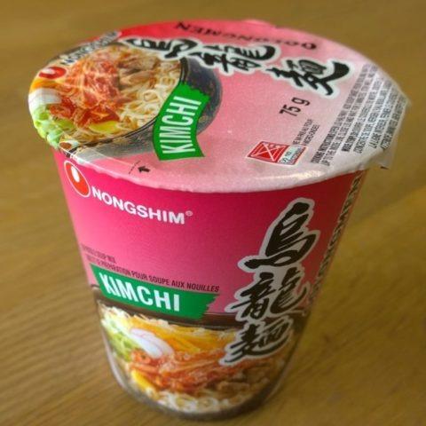 """#610: Nongshim """"Oolongmen Kimchi"""""""