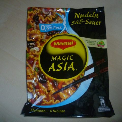 "#592: Maggi Magic Asia ""Nudeln Süß-Sauer"""