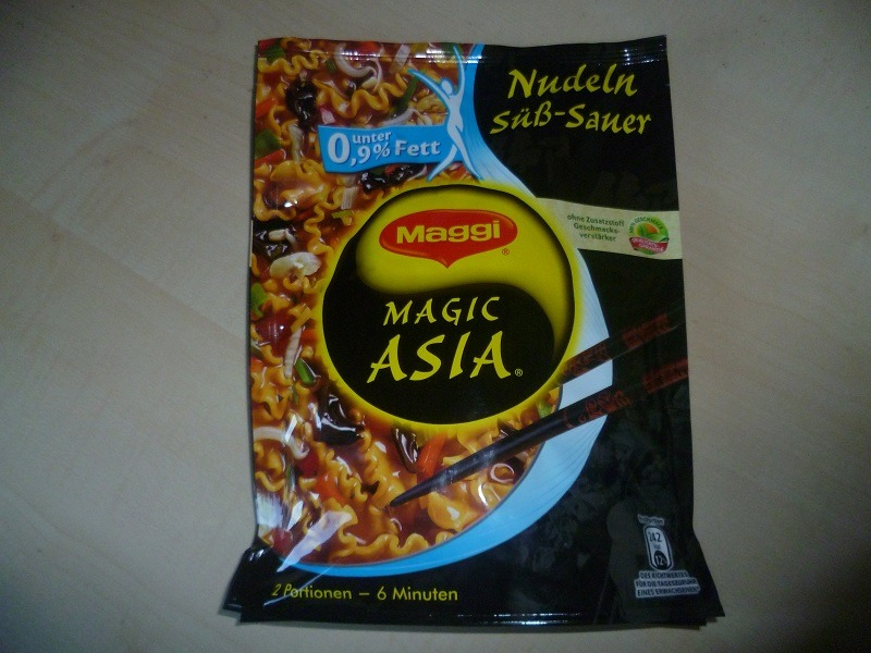 "#592: Maggi Magic Asia ""Nudeln Süß-Sauer"""