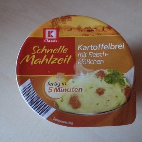 """#595: K-Classic Schnelle Mahlzeit """"Kartoffelbrei mit Fleischklößchen"""""""