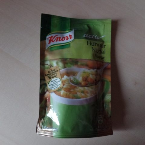 """#597: Knorr Activ """"Hühner Nudel Suppe"""""""