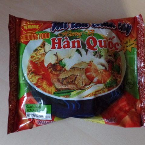 """#600: Vi Huong """"Korean Style Sour & Hot Flavour Instant Noodles"""""""