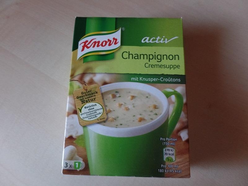 "#606: Knorr Activ ""Champignon Cremesuppe"""