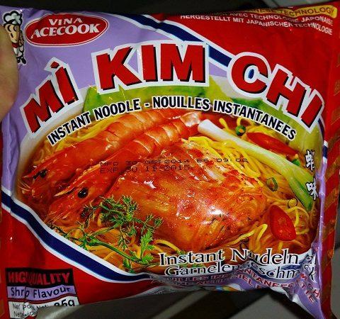 """#628: Vina Acecook Mì Kim Chi """"Instantnudeln mit Garnelengeschmack"""""""