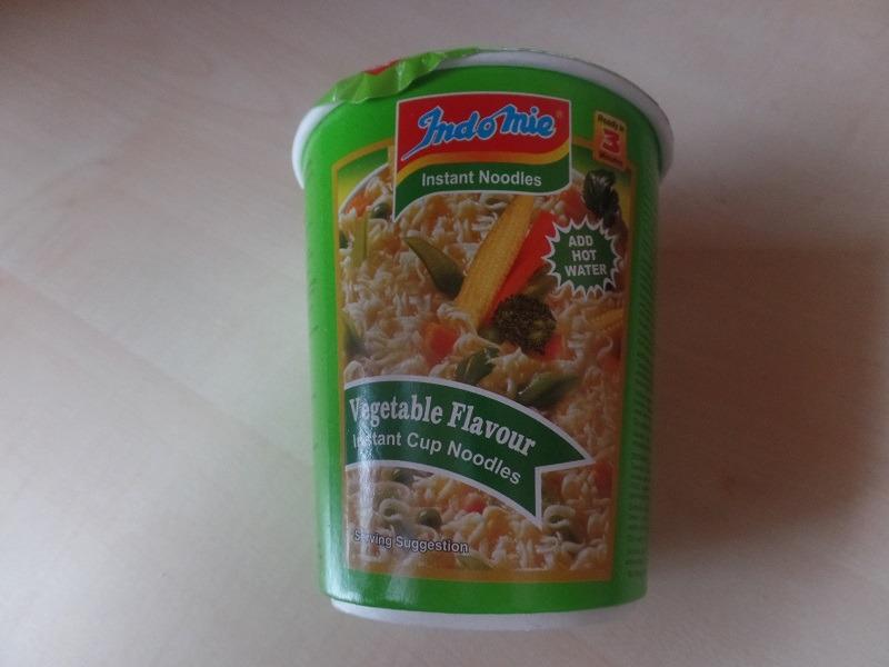 """#614: Indomie Instant Cup Noodles """"Vegetable Flavour"""""""