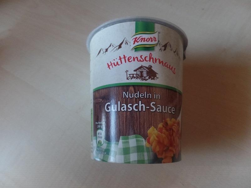 """#615: Knorr Hüttenschmaus """"Nudeln in Gulasch-Sauce"""""""