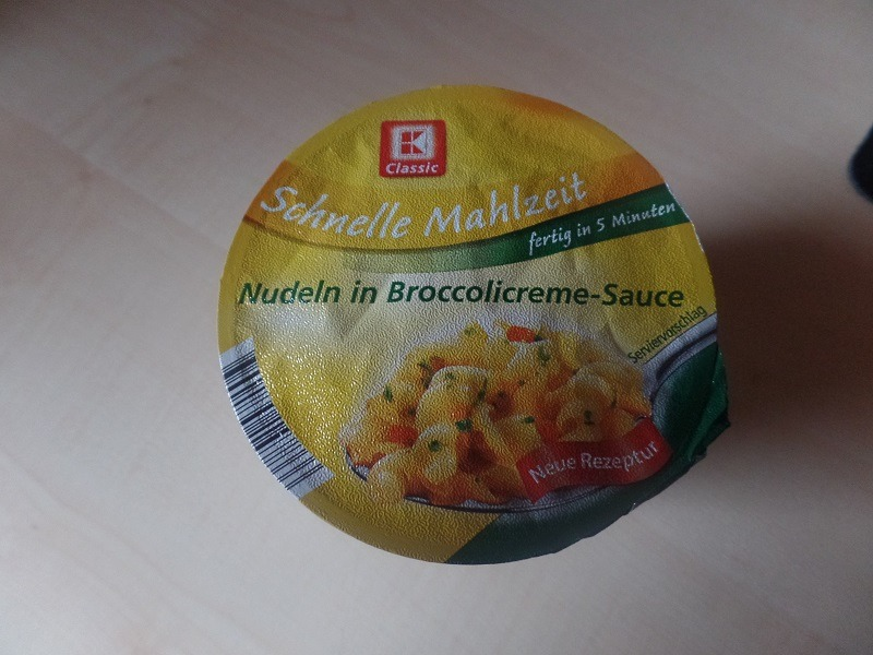 """#621: K-Classic Schnelle Mahlzeit """"Nudeln in Broccolicreme-Sauce"""""""