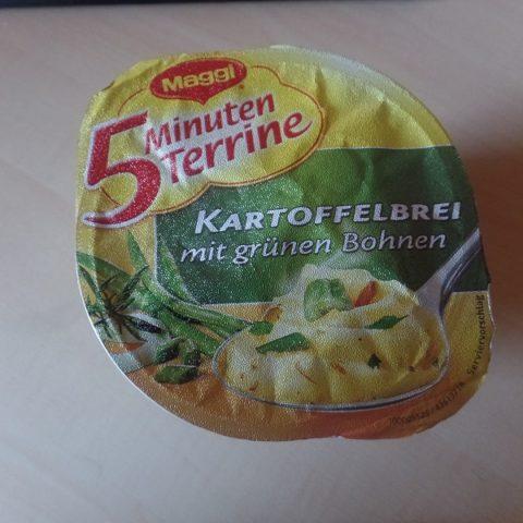 """#625: Maggi 5 Minuten Terrine """"Kartoffelbrei mit grünen Bohnen"""""""