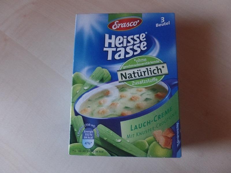 """#630: Erasco Heisse Tasse """"Lauch-Creme"""""""