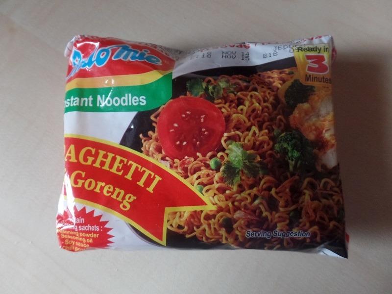 "#631: Indomie Instant Noodles ""Spaghetti Mi Goreng"""