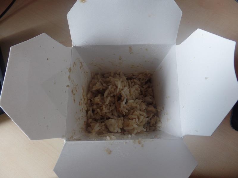 "#649: Octa Asian Take-out ""Grünes Curry"" Reis mit Hühnerfleisch"