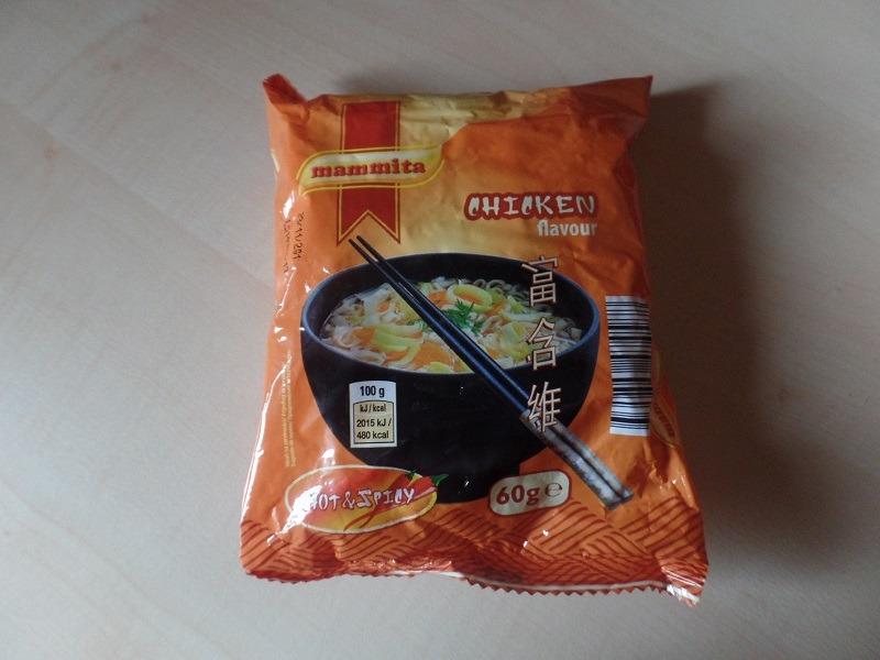 """#650: mammita """"Chicken Flavour Hot & Spicy"""""""