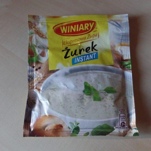 """#652: Winiary """"Ekspresowa Zupa"""" Żurek Instant"""