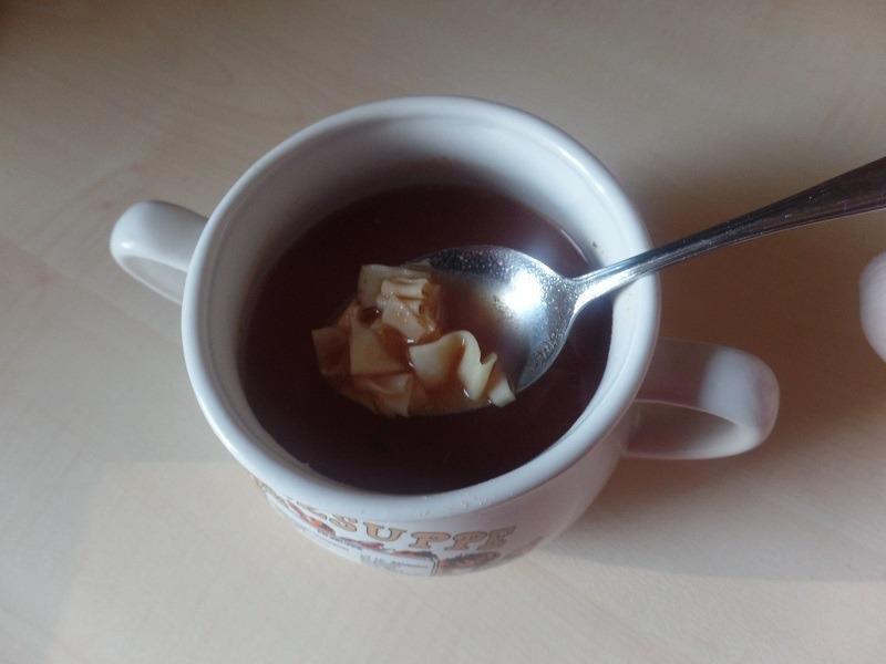 """#662: Knorr Activ """"Tomaten Mozzarella Suppe mit Nudeln und Basilikum"""""""