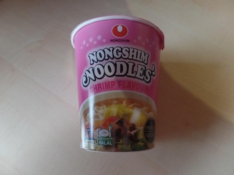 """#664: Nongshim Noodles """"Shrimp Flavour"""" Cup"""