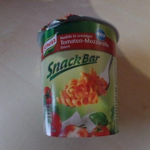 "#665: Knorr Snack Bar ""Nudeln in cremiger Tomaten Mozzarella Sauce"""